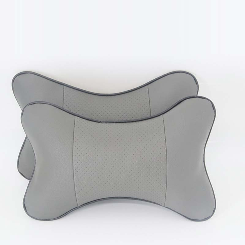 Microfiber Leather Neck Pillows for Comfortable Headrests