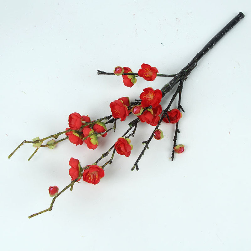 Artificial Plum Blossoms for Photo Props