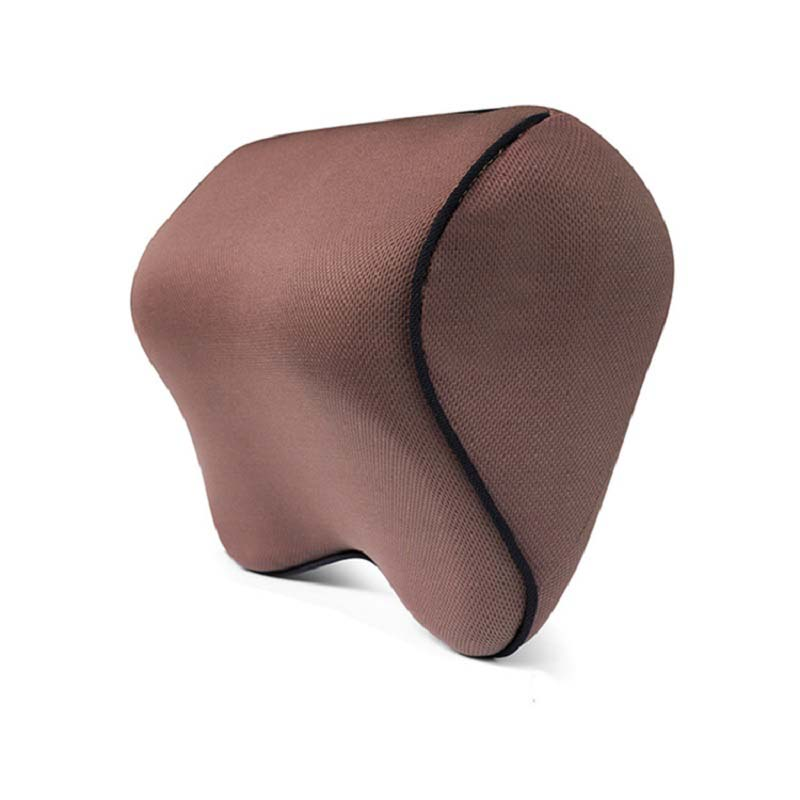 Trendy Neck Pillow with Memory Cotton for Peaceful Sleep on a Car