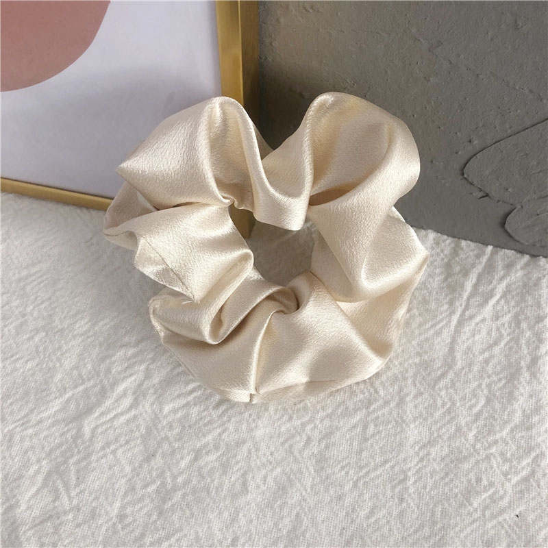 Shiny Satin Scrunchie for Silky Smooth Hair