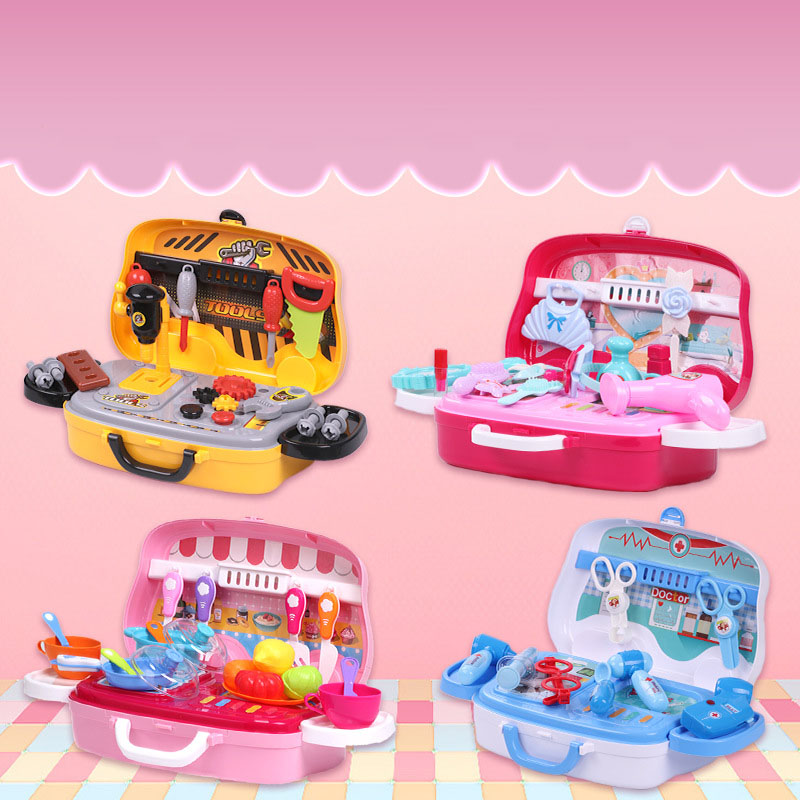 Fun Profession in a Suitcase Toy Set for Kids