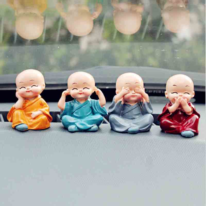 Adorable Monk Dolls for Car Accessories