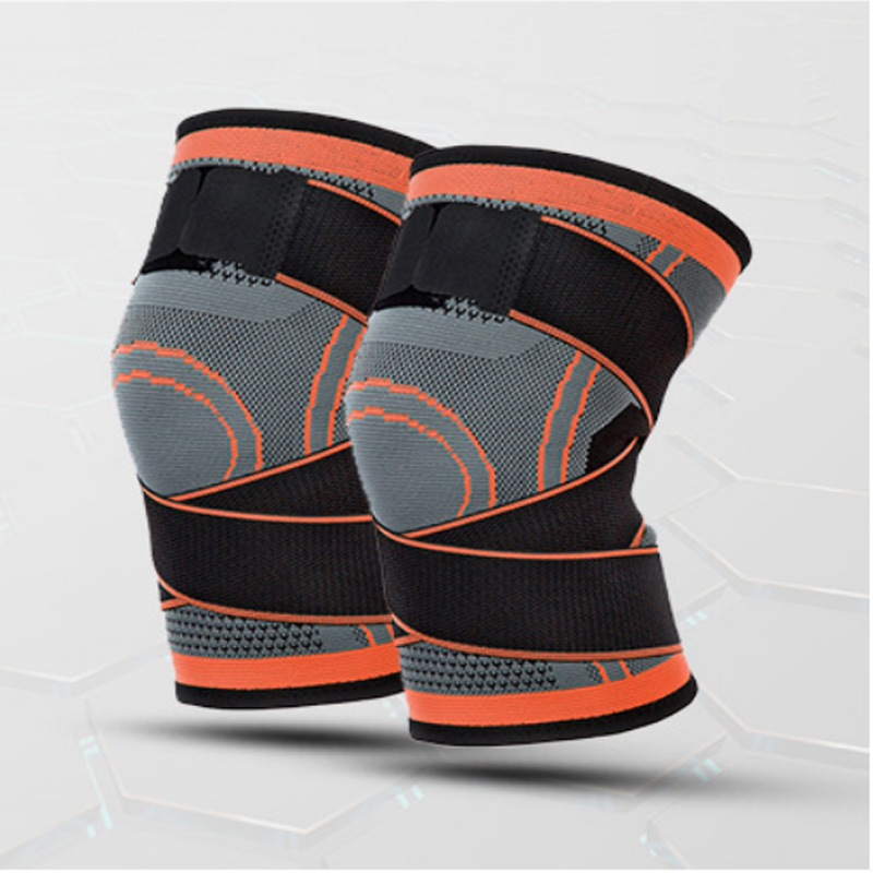 Adjustable Knitted Knee Protective Gear for Mountaineering