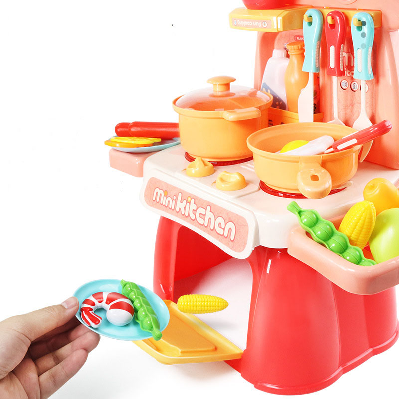 Fun Modern Kitchen Cooking Toy Set for Play Time