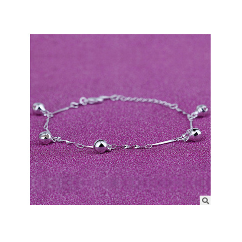Ringing Bells Silver Anklet for Sonorous Walks