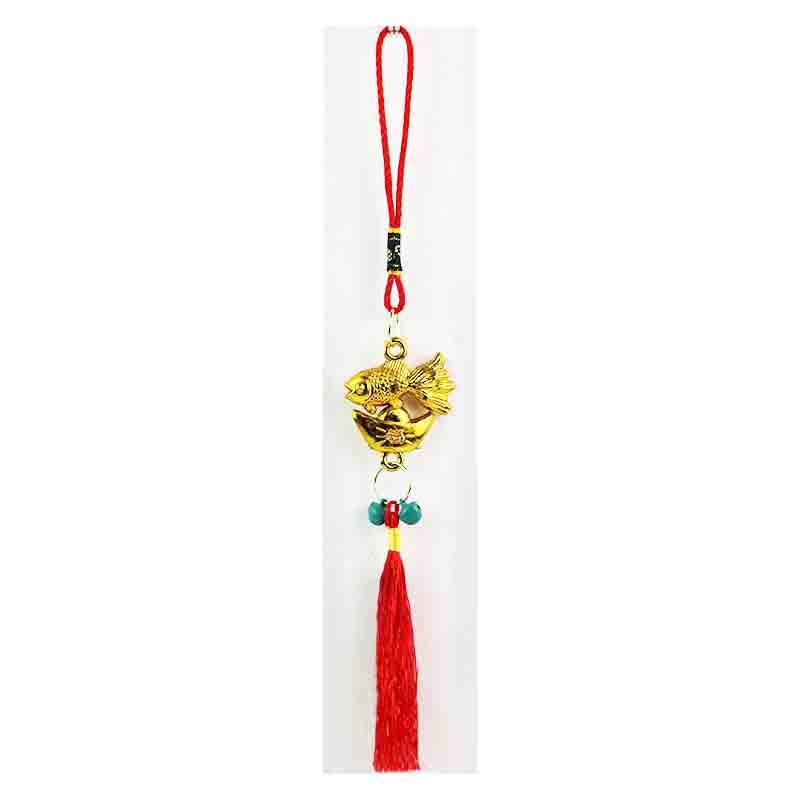 Feng Shui Mirror Charm for Luck and Fortune