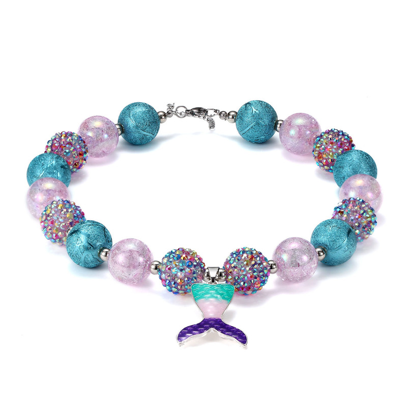 Lovely Mermaid Bead Bracelet for Sea-Lovers