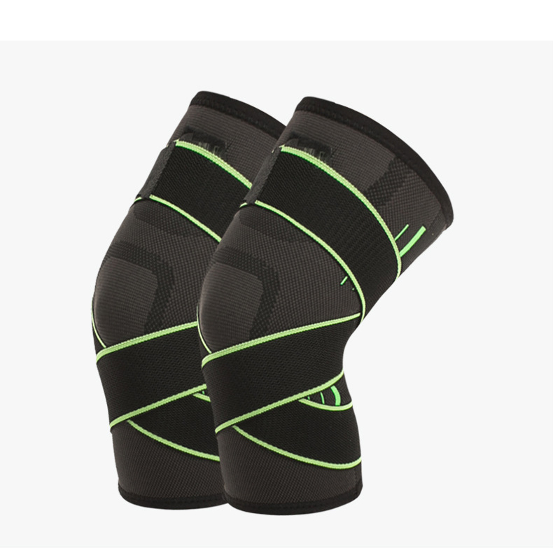 Adjustable Nylon Knee Support Pad for Basketball and Cycling