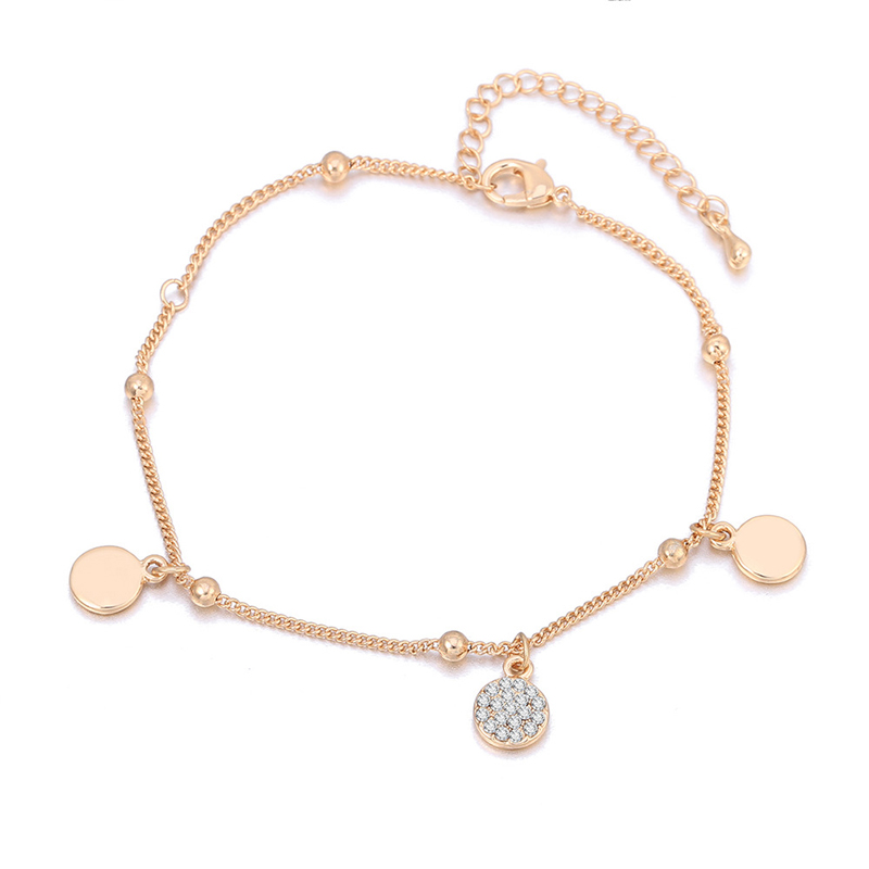 Riveting Rose Gold Anklets for Casual Style