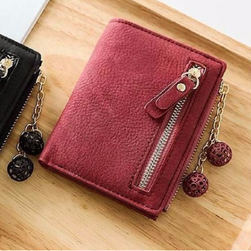 Pretty Multi-functional Wallet with Tassel Charm for Ladies