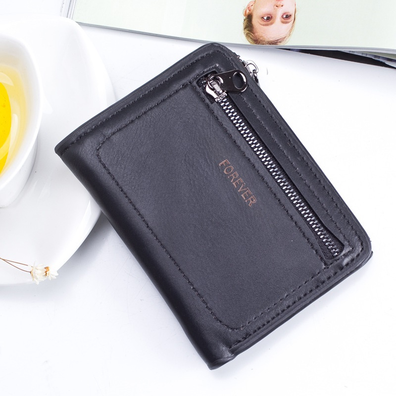 Glam Short Zippered Wallet for Ladies