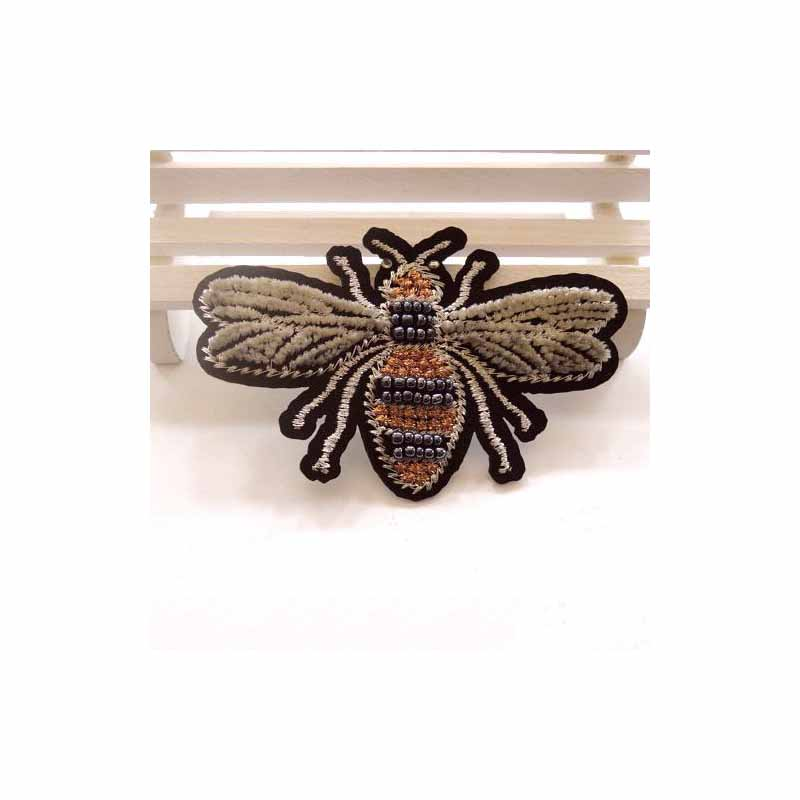 Eccentric Embroidered Animal and Insects Patch for Designing Clothes