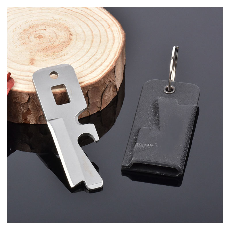 Bottle Cap Opener Key Chain for Wallets and Bags