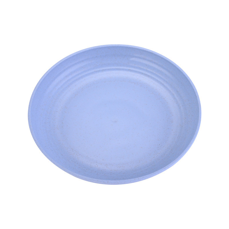 Reusable Colored Plastic Plate for Dining