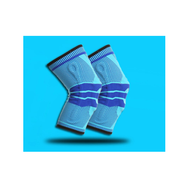 Artistic Silicone Knitted Knee Pads for Basketball