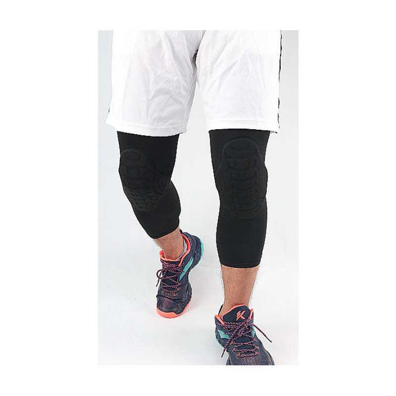 Smooth Long Breathable Knee Support for Weightlifting