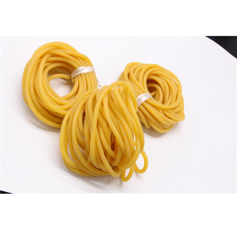 Solid Yellow Rubber Band for Rib Tying