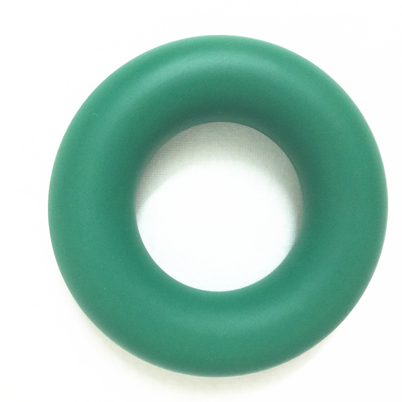 Silicone Donut Shaped Grip Ring for Hand and Finger Exercise