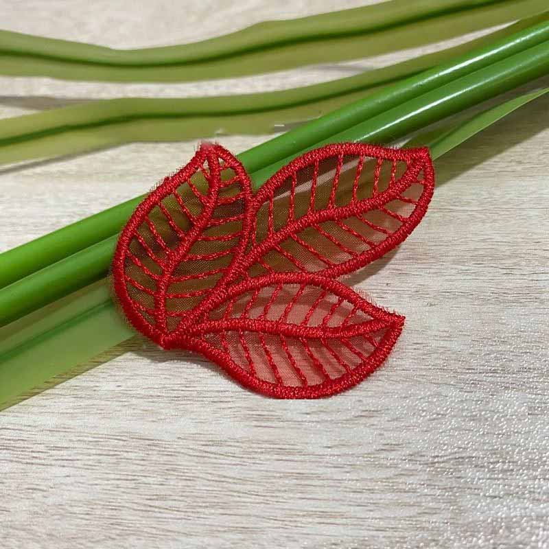 Delicate Lace Leaves Patch for Dresses