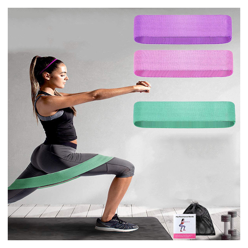 Elastic Ring Pull Band for Squat and Yoga Exercises