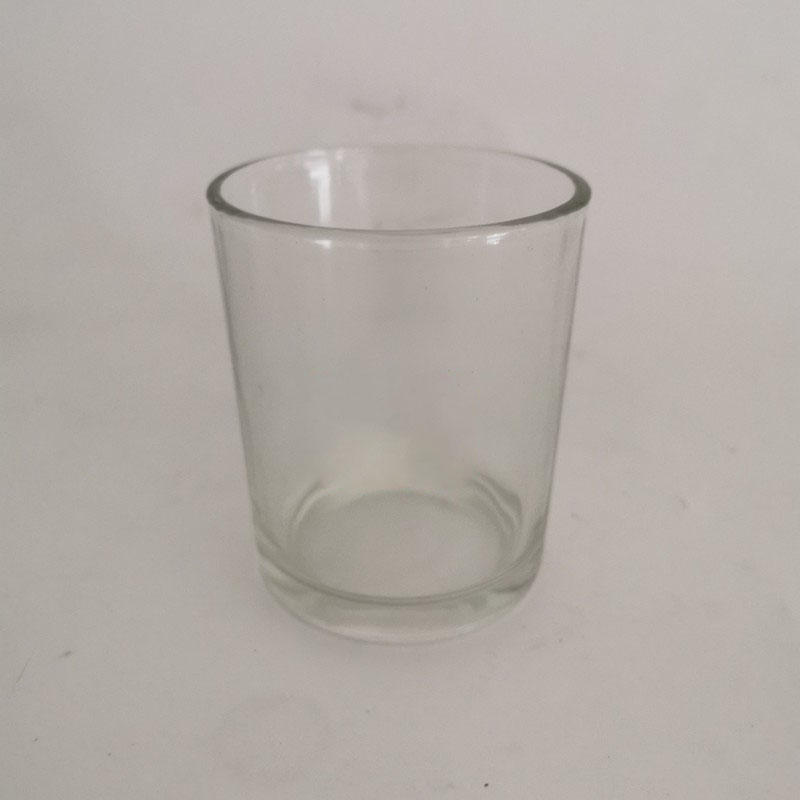 Clear Glass Basic Candle Holder for Altars