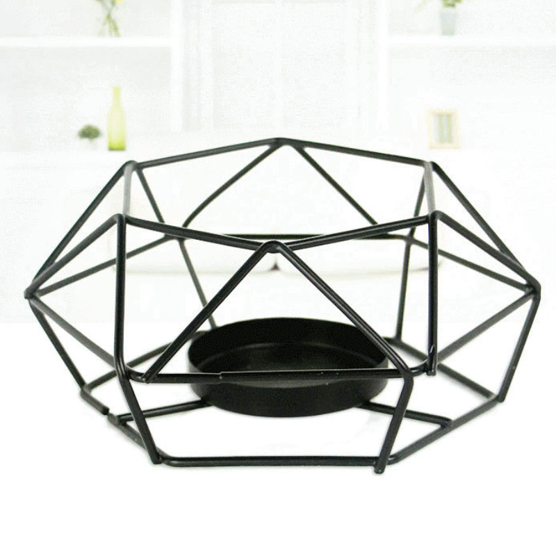 Creative Geometric Candle Holder for House Decorations