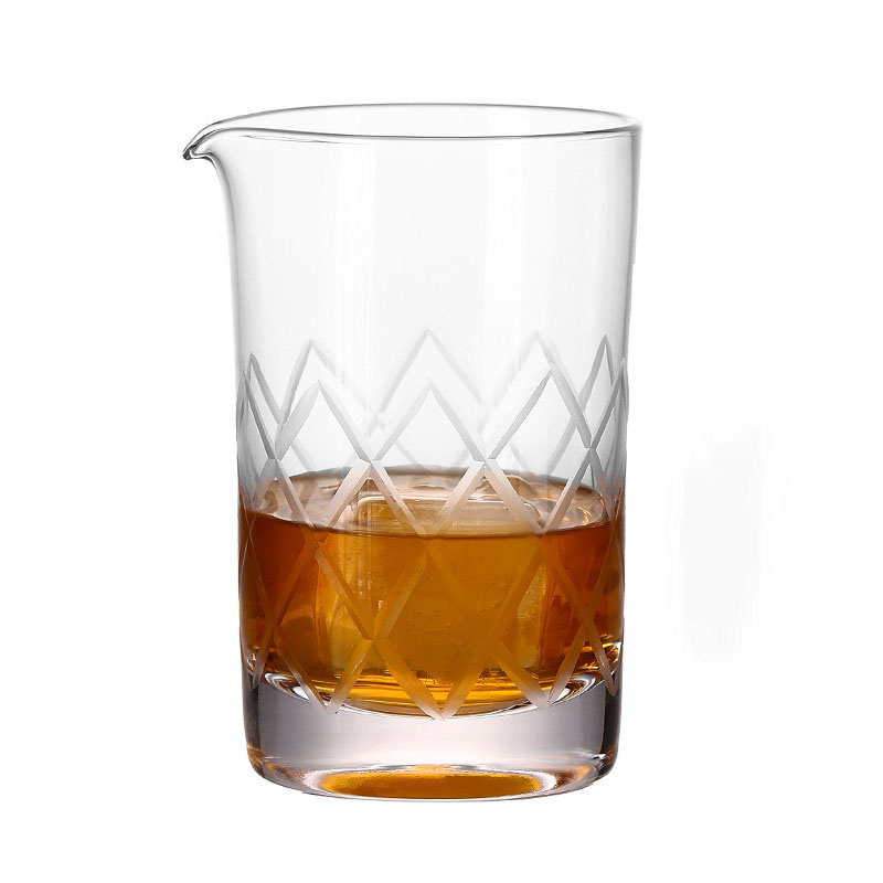 Fun Embossed Glassware Drinking Cups for Modish Homes