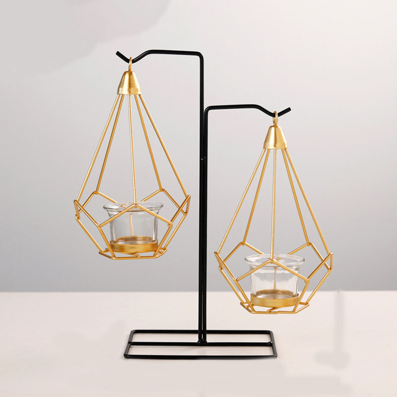 Creative Bracket Candle Holder for Elegant House Decorations