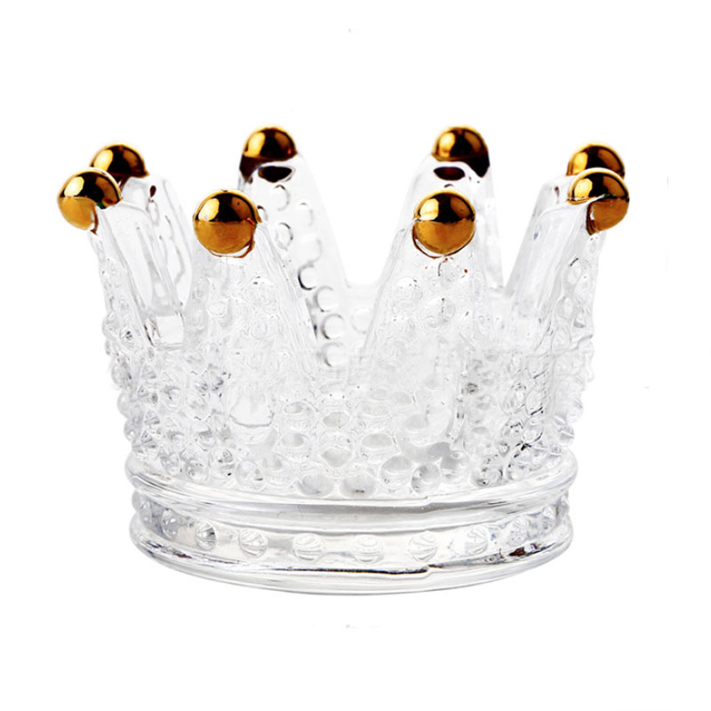 Crown Candle Holder for Dinner Lights