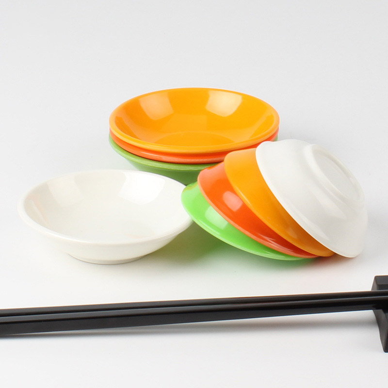 Colorful Dipping Saucers for Dining