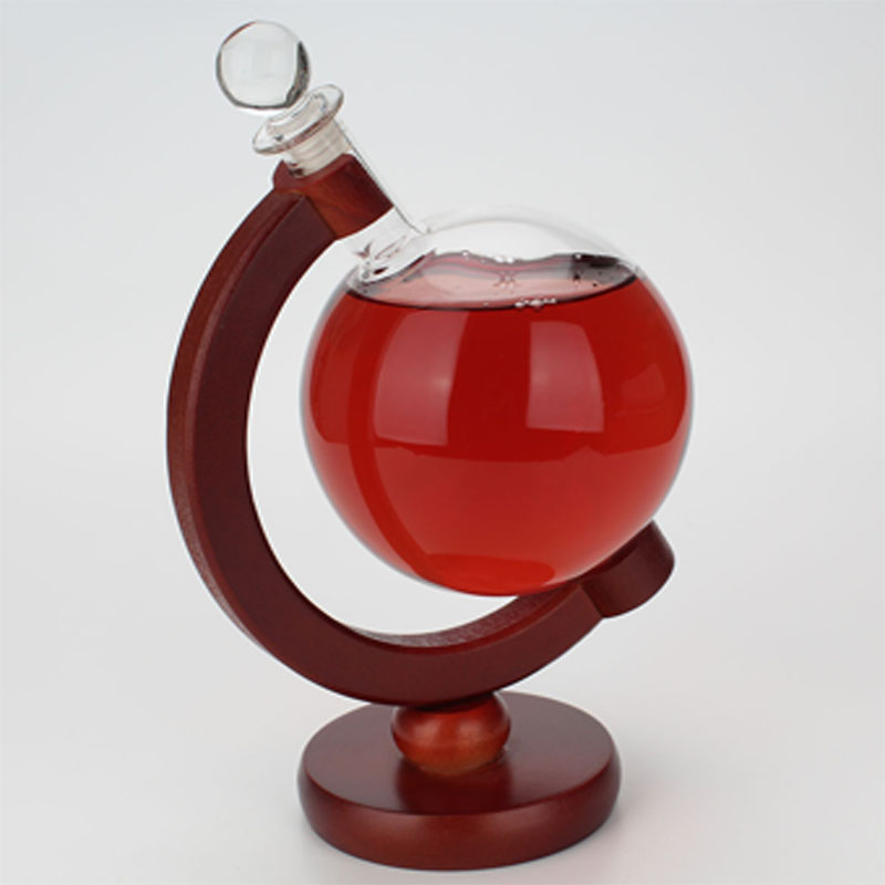 Theatrical Wine Holder for Luxe Cocktail Parties