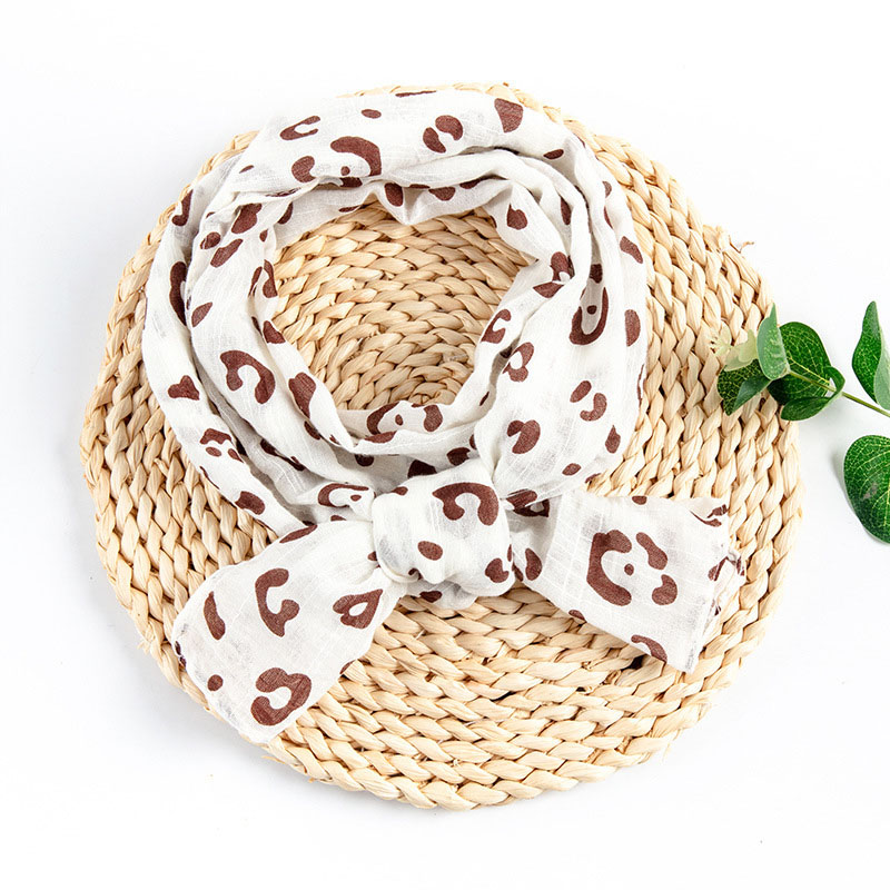 Fashionable Prints Round Scarf for Kids Wear