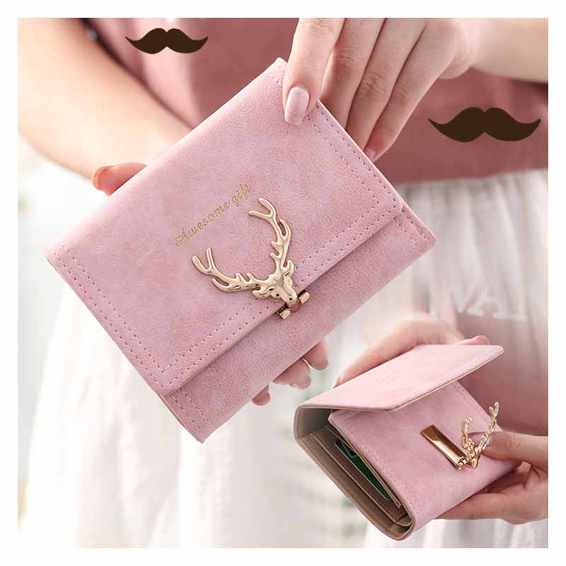 Charming Folding Wallet for Ladies
