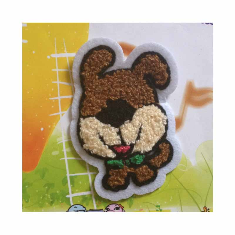 Cute Dog Felt Patch for Kids' Bags