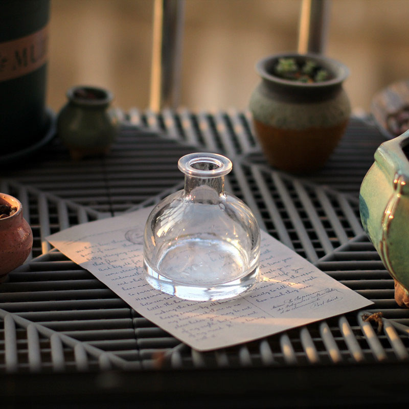 Small Lip Glass Vase for Online Selling Background