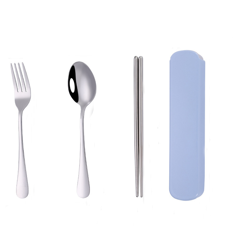 Shiny Stainless Steel Cutlery Sets for Maximum Portability and Hygiene