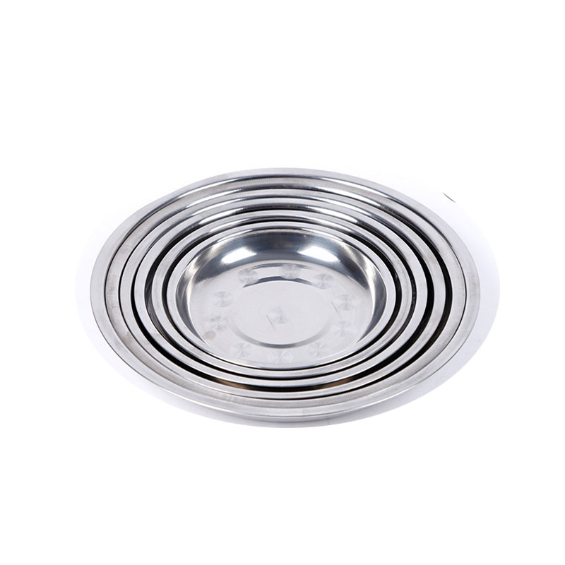 Traditional Stainless Steel Dish for Dining