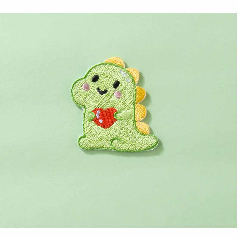 Adorable Dinosaur and Unicorn Embroidered Patch for Kids' Clothes