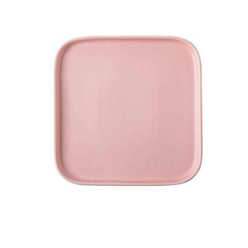 Nordic Porcelain Square and Rectangle Plate for Modern Homes
