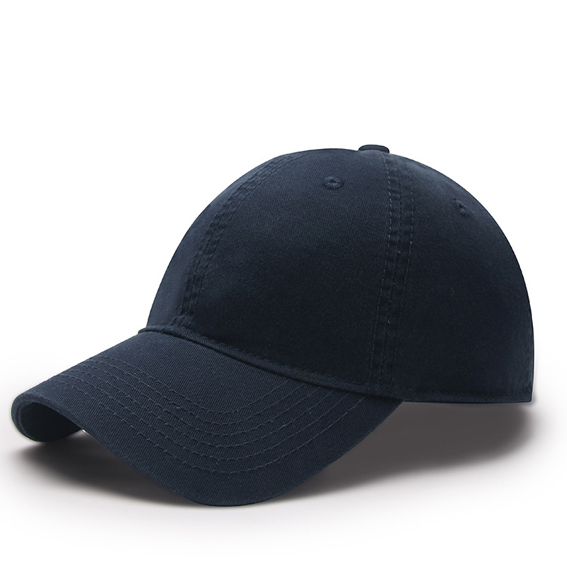 Casual Classic Washed Baseball Cap for Outdoor Activities