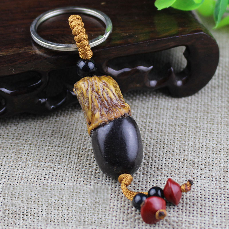 Artsy Beaded Keychain for Cute Accessories