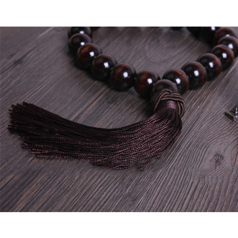 Authentic Wood Beads Mirror Charm for Car Decor