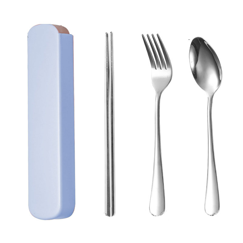 Portable 3-piece Utensil Set for Dining Out