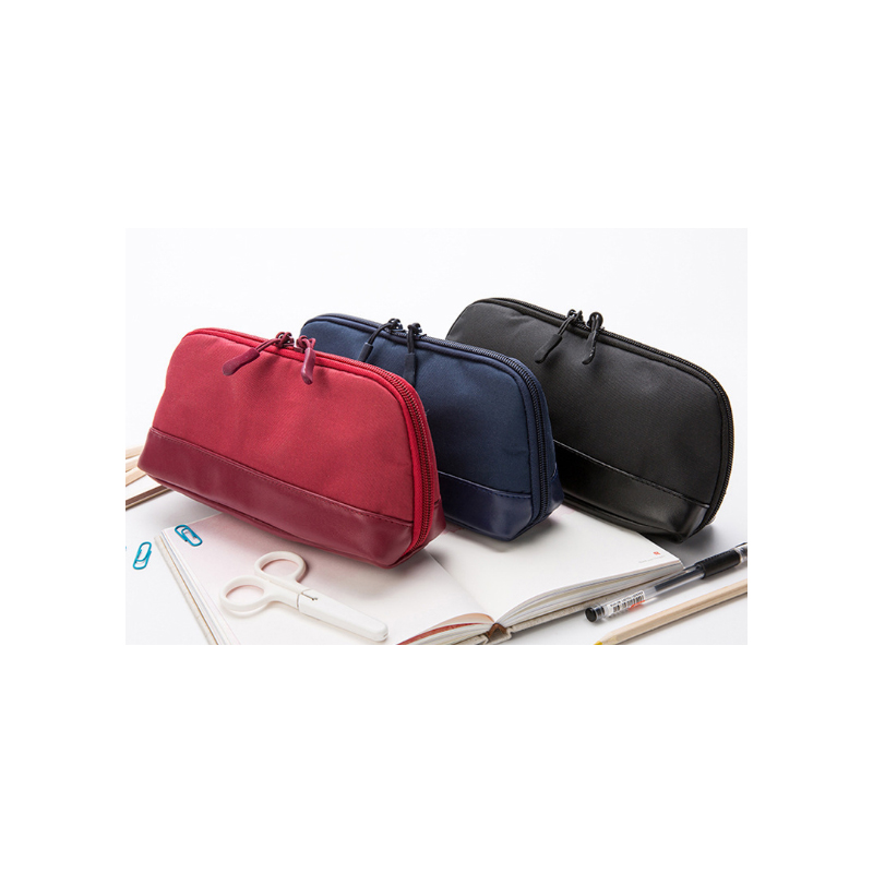 Portable Canvas Pencil Case for Promising Student's Use