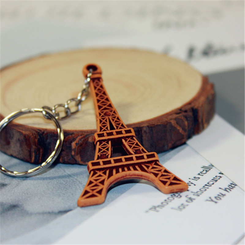 Detailed Wooden Keychain for Small Giveaways