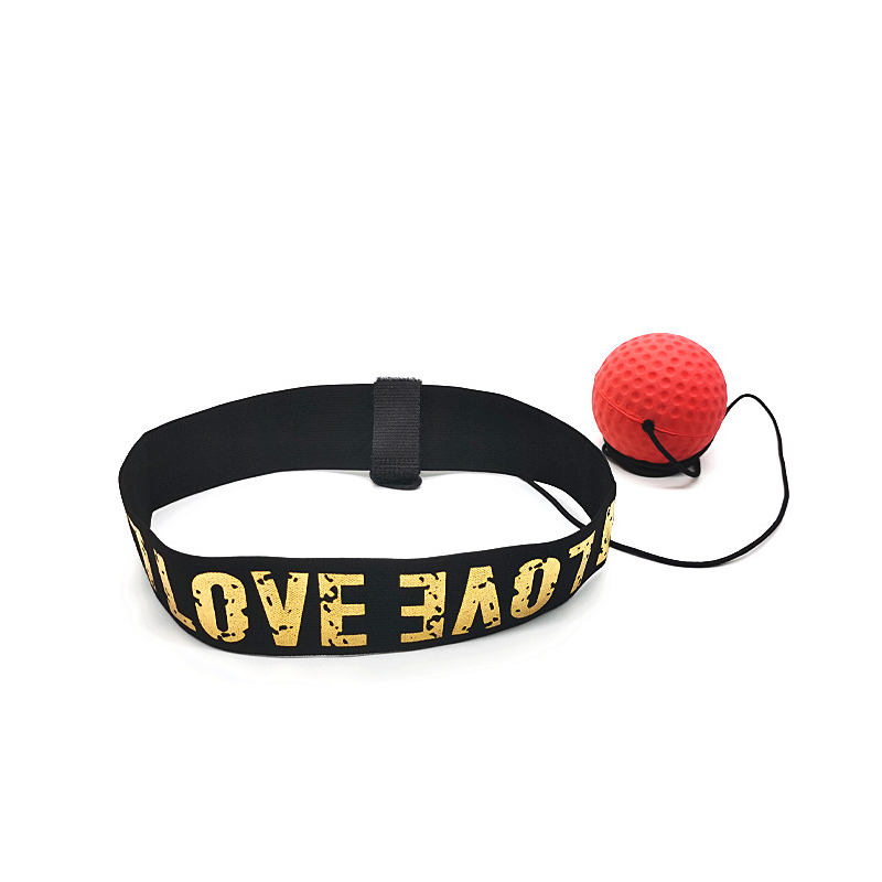 Head-Mounted Speed Reaction Ball for Boxing Training