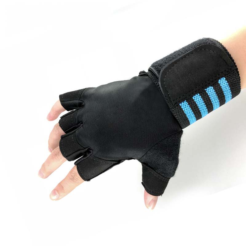 Breathable Half Finger Gloves for Sports Activities