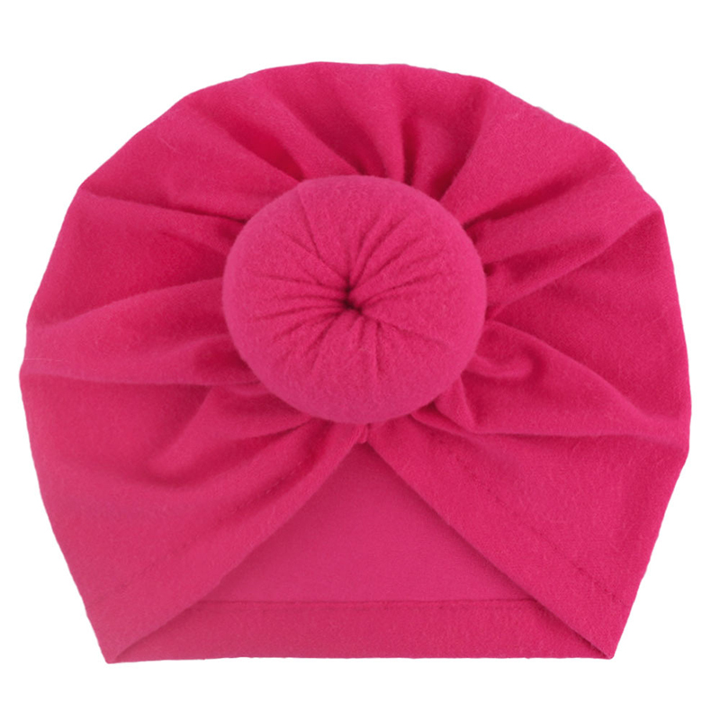 Soft Colorful Turban Knot for Babies