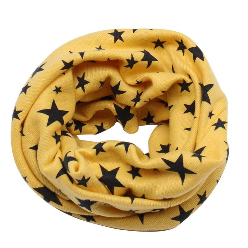 Charming Star Collar Scarf for Kids