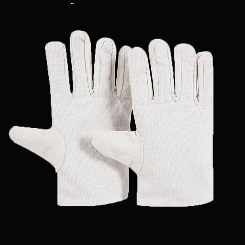 Double Layer Canvas Gloves for Protection